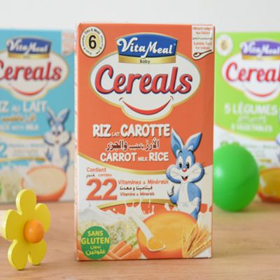 VitaMeal Baby Cereals sans gluten riz carottes
