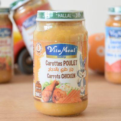 petit pot carottes poulet petit pot- carottes poulet