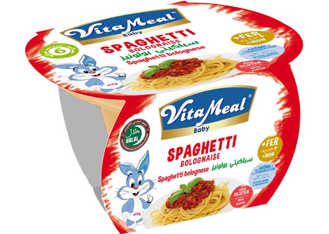 petit pot spaghetti bolognaise