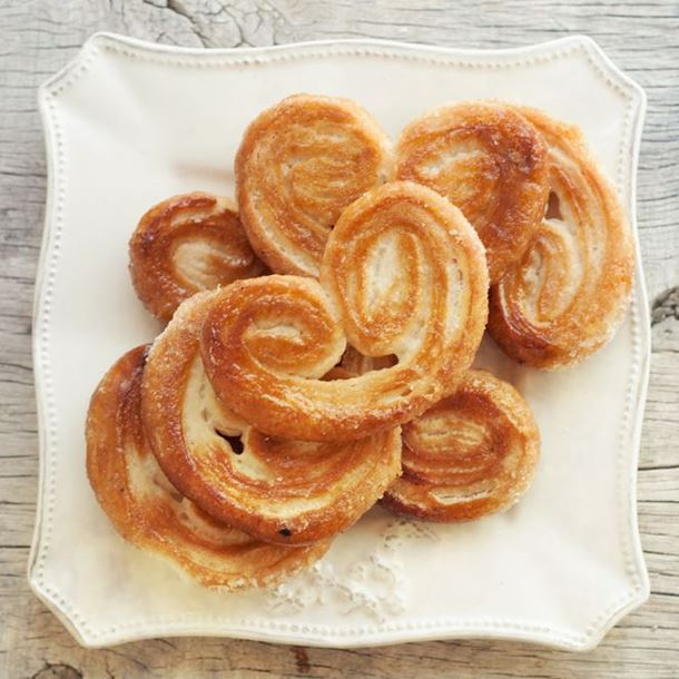 palmiers- Biscuits